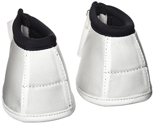 Hansbo Sport 720127 Infused Ceramic Magnetic Therapeutic Bell Boots (2 Pack), Small, White