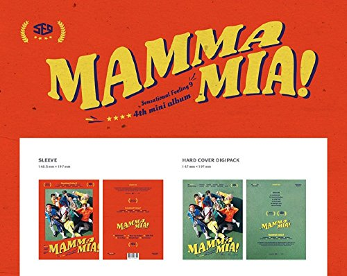 SF9 - MAMMA MIA (4th Mini Album) CD+Booklet+2Photocards+Folded Poster