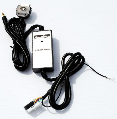 audi volkswagen vw ipod iphone mm adio input auxillary aux adapter integration oem factory