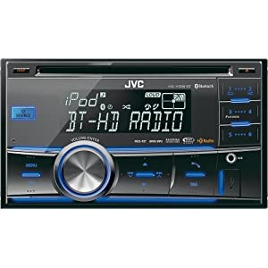 New JVC KW-HDR81BT Double DIN CD USB/AUX Car Receiver Player Bluetooth Stereo