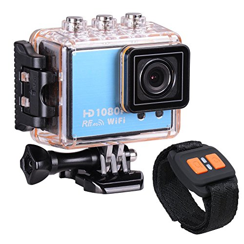 WiFi Full HD 1080P 50M Waterproof Mini Sport Action Camera Video Camcorder Blue For Sale