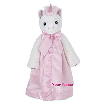 Amazon Com Personalized Bearington Baby Unicorn Dreamer Pink And