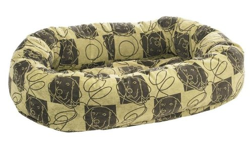 Bowsers Donut Bed, Large, Dog Days