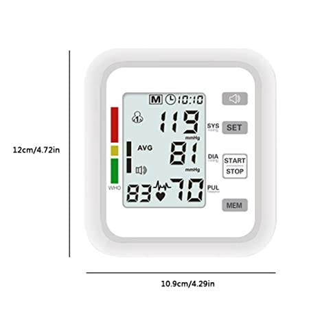 WanNing Esfigmomanómetro Electrónico Profesional, Automática Exactitud, Tensiometro Brazo,para El Uso Médico Casero: Amazon.es: Hogar