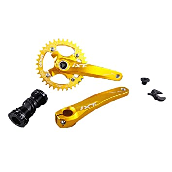 ixf 34T 36T MTB All-in-One – Bielas Chainwheel 104 BCD 170 mm