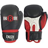 Ringside Youth Pro Style Training Gloves, Black/Red
