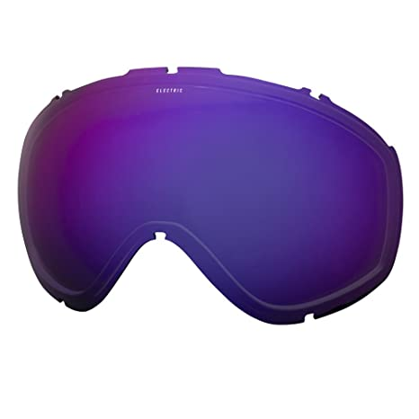 cd6be6ef1f83 Image Unavailable. Image not available for. Color  Electric Visual Masher  Brose Blue Chrome Snow Goggle Lens