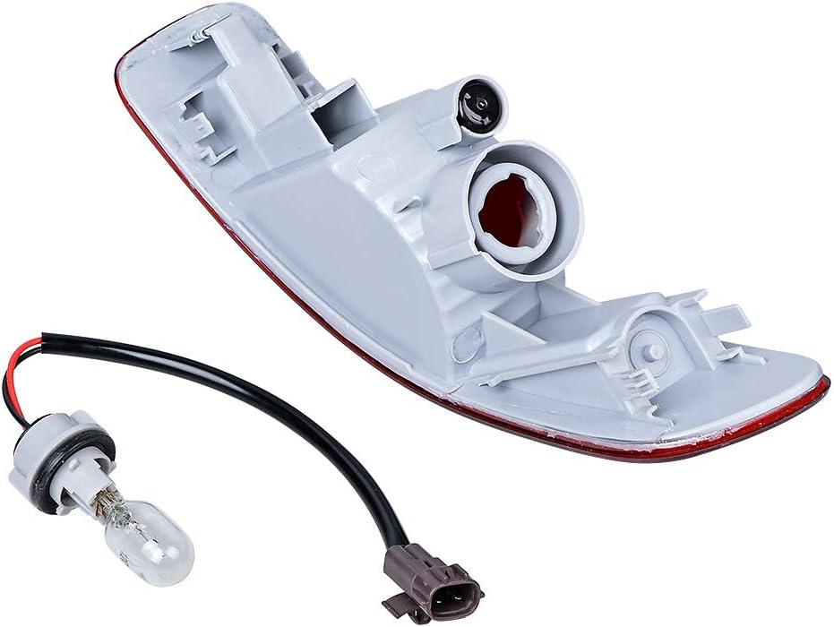 Rear Bumper Tail Light Reverse Stop Fog Lamp Left Brake Tail Light OE Repacement for AUDI Q5 2009-2016-LEFT