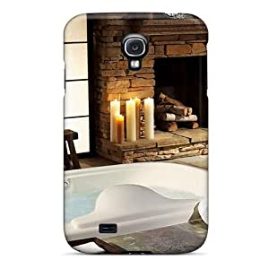 Durable Luxury Bathroom Back Case/cover For Galaxy S4