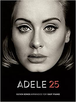 Adele 25 Easy Piano Book