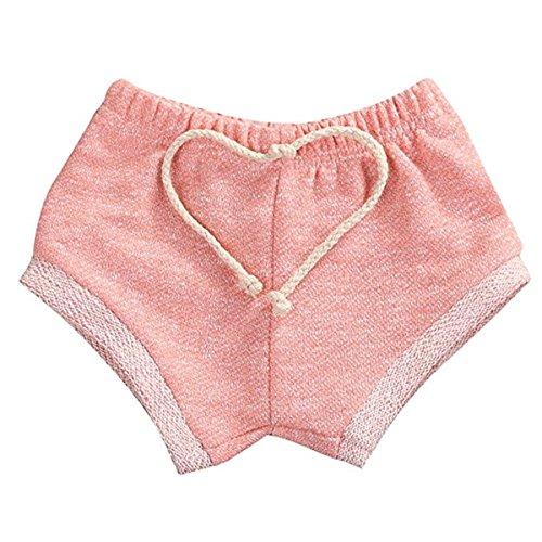 Kids Baby Boys Girls Summer Training Harem Pants Shorts Drawstring Bloomers 18-24 Months