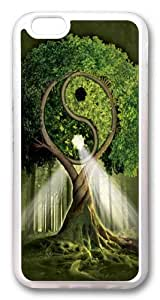 iPhone 6 Case, iPhone 6 Cases -Yin Yang Tree Fantasy TPU Rubber Soft Case Back Cover for iPhone 6 Transparent wangjiang maoyi by lolosakes