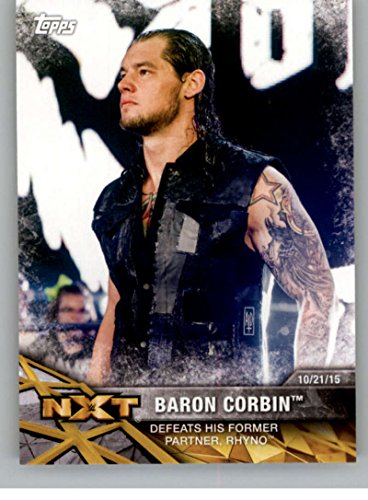 2017 Topps WWE NXT Wrestling Matches and Moments #8 Baron Corbin