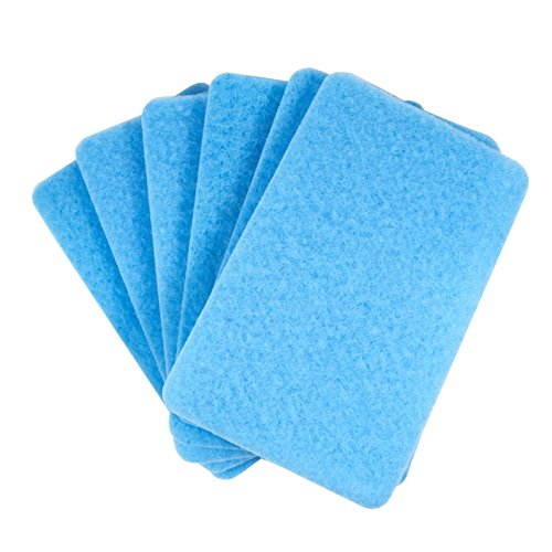 BUGS OUT Bug Removing Sponge (6 Pack) - No Scratch - Cars, Trucks, RVs, and - Scratches Removing