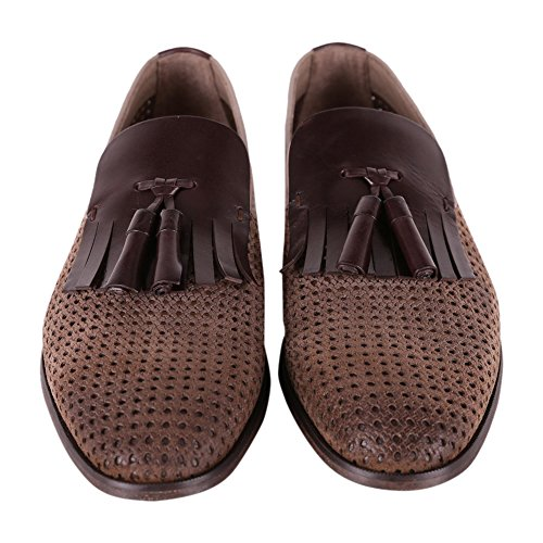 DOUCAL'S Brown Loafers Leather DU1923DEREPZ104TC24 Men's aawqUY4