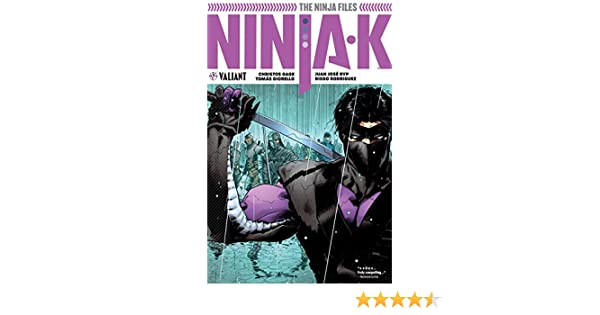 Ninja-k Vol. 1: The Ninja Files Vol. 1