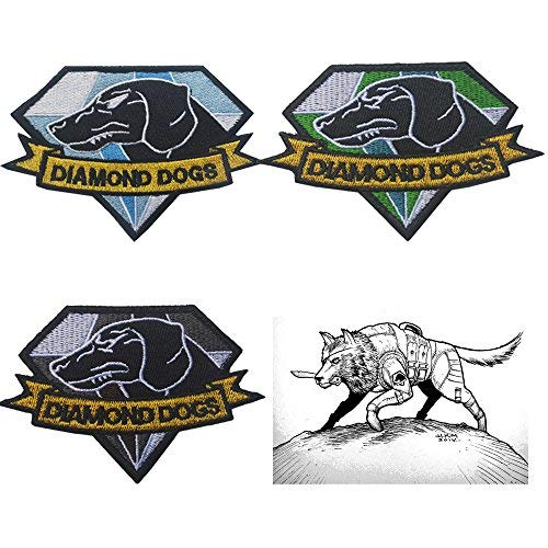 Oyster-Patch Diamond Dogs Metal Gear Solid Tactical Patch Hook & Loop (3pcs)