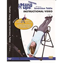 """Teeter EP-Series Inversion Table Instructional DVD by """"Teeter EP-550, EP-650, EP-850 and EP-950 Inversion Table Instructional DVD"""""""