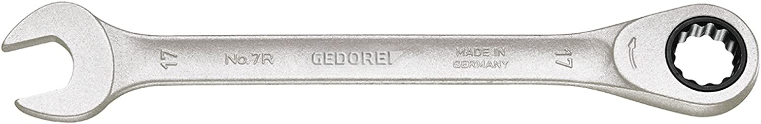 Gedore 7R-8 2297051 Combination Ratchet Spanner 8mm Silver