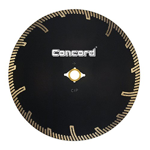Concord Blades CTL070D08HP 7 Inch Continuous Rim Pro-Teeth Turbo Granite Blade