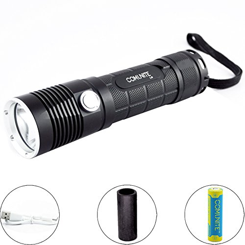 L9 Usb (Comunite L9 1200LM CREE XM-L2 LED USB rechargeable 26650/18650 flashlight Torch-Included 18650 Battery and USB Cable)