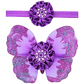 Amiley Baby Girls Newborn Butterfly Wings Costume Photo Photography Prop Outfits