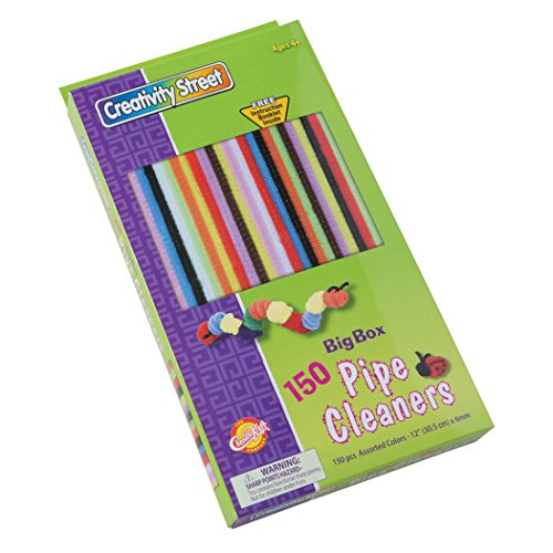 Creativity Street Big Box of Chenille Stems, 150-Count, Assorted Colors (AC5547) ()