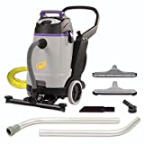 ProTeam Wet Dry Vacuums, ProGuard 15, 15-Gallon Commercial Wet Dry Vacuum Cleaner with Tool Kit and Front Mount Squeegee