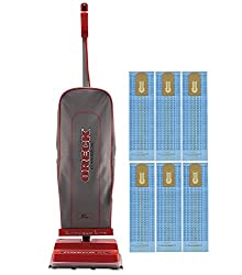 Oreck Commercial Vacuums with Blue Bags