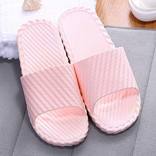 Chaussures Chaussures 41 de de Sandales piscine piscine Chaussures Mule Foams Sole Rose de antidérapantes Maison de bain Soft de salle Mule d'eau Pantoufles 40 de Chaussures douche douche pUq77f