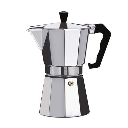 LouiseEvel215 Cafetera Aluminio Mocha Espresso Percolator Pot ...