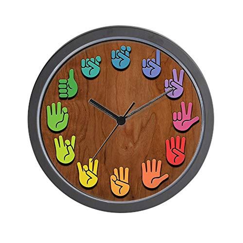 CafePress ASL Color Wood Unique Decorative 10