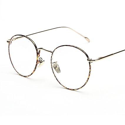 Occhiali Aviatore Vintage Occhiali Finti Occhiali Lenti Trasparenti in Metallo Retrò per Uomo Donna (Argento) X6vZFGnI