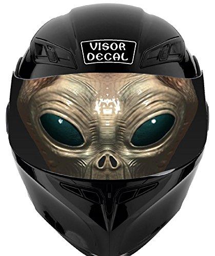 Alien Motorcycle Helmet - 3