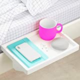 BedShelfie The Original Bedside Shelf - 9 Colors / 2 Sizes - AS SEEN ON Business Insider (Regular Size, White)