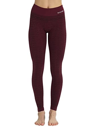 8370f6365b214 Burton Women's Active Seamless Tights Base Layer Pants Leggings at Amazon  Women's Clothing store: