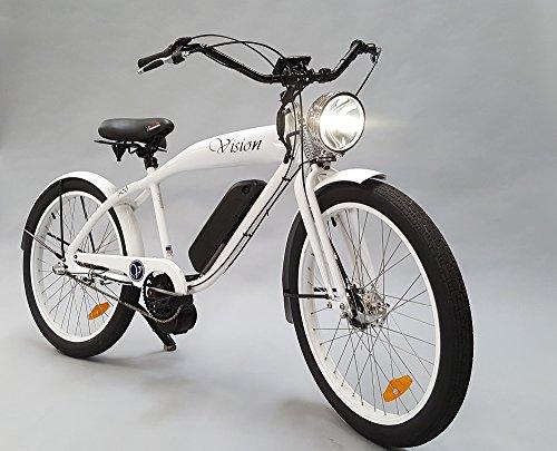 Cheap Phantom Vision Electric Bike, White Gloss