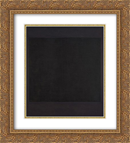 Mark Rothko 2x Matted 20x24 Gold Ornate Framed Art Print 'No. 7' 7' Matted Print