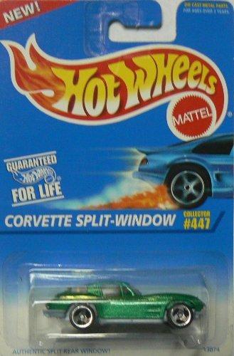 (Hot Wheels Corvette Split-Window #447 with 3 Spoke Wheels)