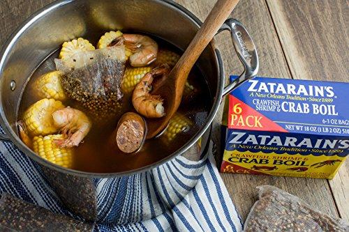 Zatarain's Dry Crawfish, Shrimp and Crab Boil, 3 oz (Pack of 12) by Zatarain's (Image #8)
