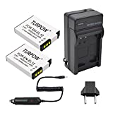 nikon s9100 battery charger - EN-EL12 Battery Charger-Turpow EN-EL12 2 Pack Battery and Charger Kit for Nikon Coolpix A900 AW100 AW110 AW120 AW130 S31 S800C S6100 S6200 S6300 S8100 S8200 S9050 S9100 S9200 S9300 S9400 P340
