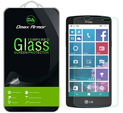 Dmax Armor for LG Lancet Screen Protector, [Tempered Glass] 0.3mm 9H Hardness, Anti-Scratch, Anti-Fingerprint, Bubble Free, Ultra-Clear