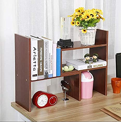 Groovy Amazon Com Raumeyun Small Desk Bookshelf Office Desk Beutiful Home Inspiration Aditmahrainfo