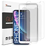 "Wireless : Trianium (3 Packs) Screen Protector Designed for Apple iPhone 11 and iPhone XR (6.1"" 2018) Premium HD Clarity 0.25mm Tempered Glass Screen Protector with Easy Installation Alignment Case (3-Pack)"
