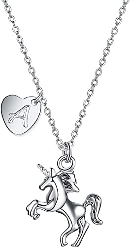 Beautiful Black Unicorn Pendant 14kt Gold-Plated Necklace New in Gift Box