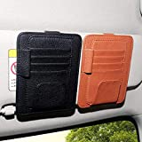 Womdee Car Visor Organizer, Car Sun Visor Holder