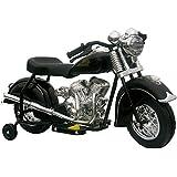 Little Vintage Indian Motorcycle, Black