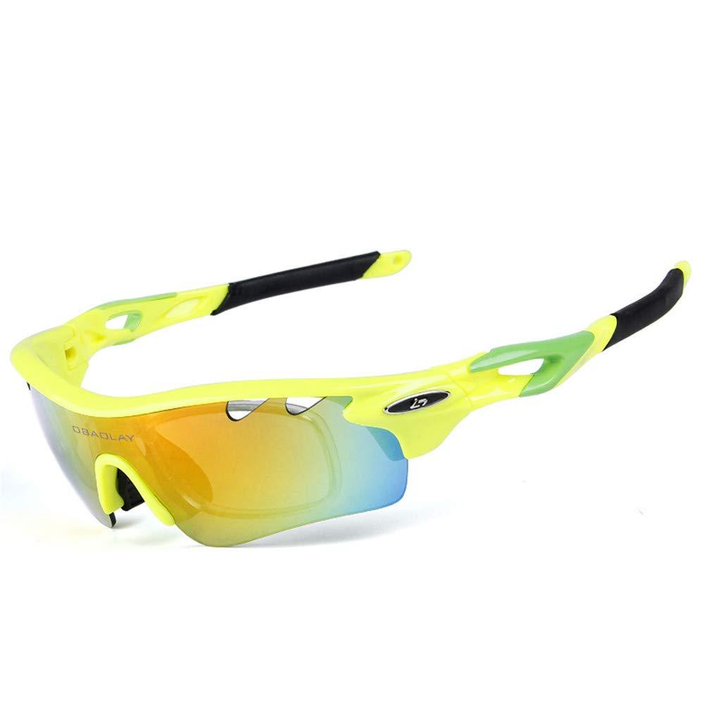 YFFS Portable Glasses Polarized Sunglasses Cycling Sports Glasses Outdoor Sports Sunglasses (Color : C)