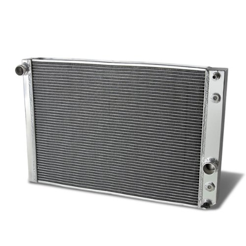(For Chevrolet Corvette Full Aluminum 3-Row Racing Radiator - C4 5.7L V8 L98/LT1 ZR1)