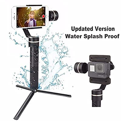 Feiyu SPG Upgraded version Splash-Proof Design 3 Axis Handheld Stabilizer Phone Gimbal for iPhone Huawei Samsung Galaxy Moto LG Xiaomi Smartphones